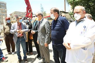 محافظ كفرالشيخ يتفقد عددا من المنشآت الصحية والمستشفيات بعاصمة المحافظة | صور
