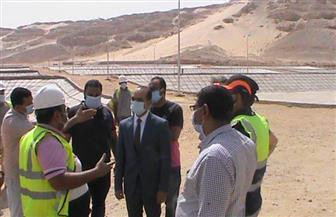 نائب محافظ سوهاج يتفقد مشروعات برنامج التنمية المحلية لصعيد مصر | صور