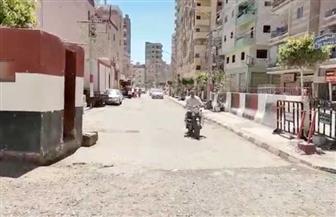 إعادة فتح أهم شارعين بمدينة كفرالشيخ كانا مغلقين منذ ثورة يناير   صور