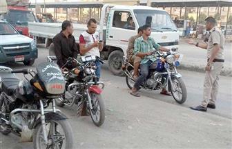 ضبط 2741 دراجة نارية مخالفة في 4 أيام