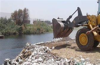 إزالة 710 حالات تعد على نهر النيل ومنافع الري والصرف خلال الأسبوع الحالي