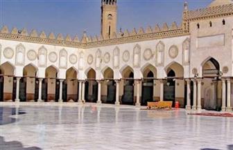 إقامة صلاة الجمعة بالجامع الأزهر بحضور ٢٠ من المصلين