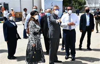 وزير التعليم العالي يتفقد المستشفي الميداني بجامعة عين شمس | صور