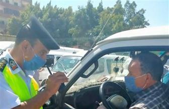 """لعدم ارتداء الكمامة.. """"الداخلية"""" تتخذ إجراءاتها القانونية ضد 1257 سائق نقل جماعي"""