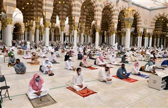 المسجد النبوي يشهد المرحلة الثانية من إعادة المصلين إلى الروضة الشريفة