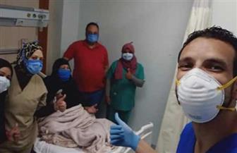 خروج 23 حالة تعافي من مستشفى العزل بإسنا جنوب الأقصر| صور