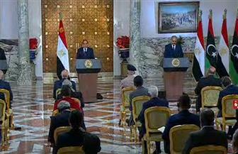 الرئيس السيسي: عقيلة وحفتر برهنا على رغبتهما الأكيدة في إنفاذ إرادة الشعب الليبي