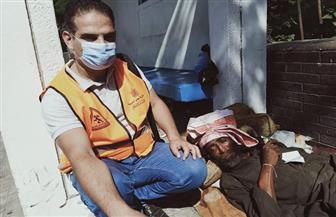 القباج توجه فريق التدخل السريع لإنقاذ حياة مسن بلا مأوى بمحطة الدمرداش | صور
