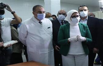 وزيرة الصحة تتفقد مستشفى جمال عبدالناصر بالإسكندرية.. وتشيد بالخدمات المقدمة للمرضى | صور