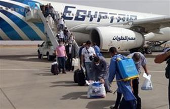 وصول 642 مصريا من العالقين بالسعودية والكويت