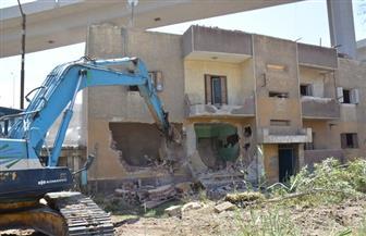 إخلاء والبدء في إزالة عمارات سندوب في المنصورة | صور