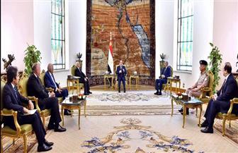 تفاصيل جلسة المباحثات المغلقة بين الرئيس السيسي والمشير خليفة حفتر وعقيلة صالح بشأن الأزمة الليبية