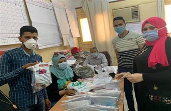 توزيع 162 حقيبة لمرضى العزل المنزلي و809 على المخالطين في الدقهلية   صور