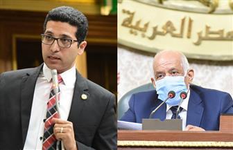 مشادة كلامية بين عبدالعال والنائب هيثم الحريري بسبب مشروع قانون قطاع العمال