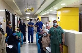 تعافي 873 مريضا من كورونا في البحيرة وخروجهم من مستشفيات العزل
