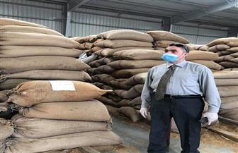 ضبط 35400 عبوة سلع غذائية و8753 طن جلود خلال حملات تموينية