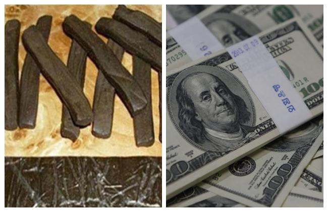 ضبط  عناصر إجرامية لغسل قرابة  مليون جنيه من تجارة المخدرات