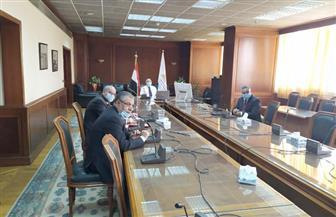 وزير الري يعطي إشارة إطلاق المياه في المرحلة الثانية لسحارة سرابيوم| صور
