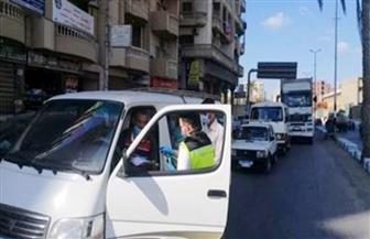 اتخاذ الإجراءات القانونية ضد 1398 سائق نقل جماعي لعدم الالتزام بارتداء الكمامات