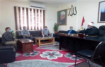رئيس منطقة البحر الأحمر يبحث استعدادات امتحانات الشهادة الثانوية الأزهرية | صور