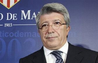 رئيس أتليتكو مدريد يعرض استضافة مباريات ريال مدريد على ملعبه