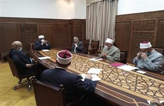 اللجنة العليا للمصالحات بالأزهر الشريف تعقد اجتماعها الدوري | صور