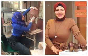 التشكيلية سمر مجدي: «أحيا في حوار دائم مع منحوتاتي» | صور