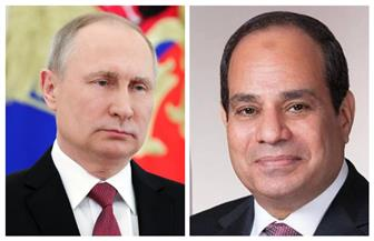 الرئيس السيسى يؤكد في اتصال هاتفي مع بوتين موقف مصر الاستراتيجي الثابت تجاه القضية الليبية
