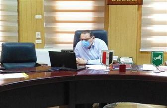 تفريق الباعة وفض الأسواق العشوائية في 5 مراكز بمحافظة الشرقية