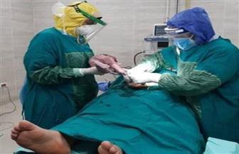 إجراء ولادة قيصرية عاجلة لمريضة «كورونا» في مستشفى ميت غمر