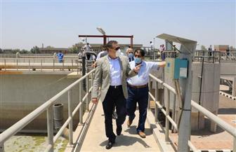 محافظ المنوفية يتفقد مشروع محطة معالجة الصرف الصحى بمنشأة سلطان  صور