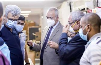 محافظ قنا: متابعة يومية للمستشفيات المخصصة لمصابي فيروس كورونا | صور