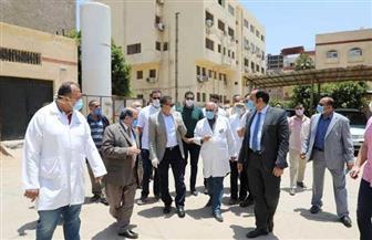 محافظ المنوفية يتفقد مستشفى منوف العام| صور