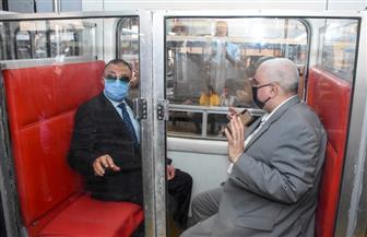 تجربة جديدة بترام الإسكندرية لضمان سلامة المواطنين من كورونا.. والمحافظ يوجه بدراستها وتعميمها | صور