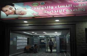 محافظ مطروح: بوابات تعقيم إلكترونية لمستشفى الأطفال والنساء| صور