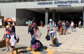 مطار الغردقة يستقبل أول رحلة طيران منذ 3 أشهر قادمة من أوكرانيا