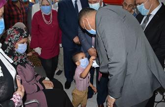 بدء حملة التطعيم ضد شلل الأطفال وكشف ضعاف السمع بالدقهلية | صور