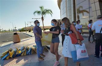 مصر تستقبل 297 سائحا في أول أيام عودة حركة السياحة الخارجية | صور