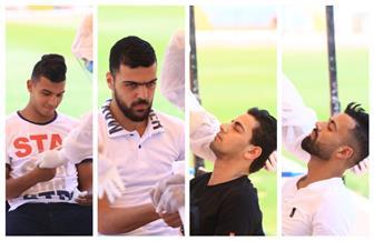 لاعبو الإسماعيلي يخضعون للمسحة الطبية للكشف عن فيروس كورونا | صور