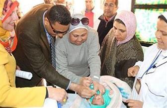 بدء حملة التطعيم ضد مرض شلل الأطفال بالمنوفية