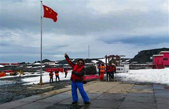 فريق البعثة العلمية الصينية يقضي الشتاء في القطب الجنوبي