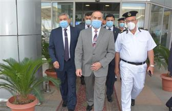 وزير الطيران المدنى يتفقد مطار القاهرة الدولي | صور