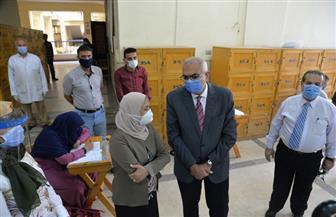 تحويل حالتين لمستشفى الطلبة بالمنصورة خلال أول أيام امتحانات الفصل الدراسي الثاني الجامعي