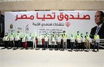 «تحيا مصر» يوزع 40 طنا من المواد الغذائية على سكان «بشائر الخير» 1 و2 | صور