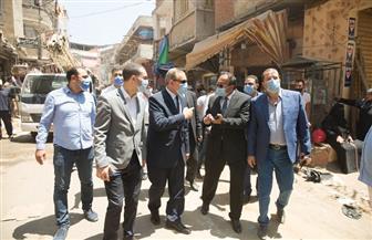 محافظ كفرالشيخ يقود حملة مكبرة لإزالة التعديات ورفع الإشغالات بغرب عاصمة المحافظة | صور