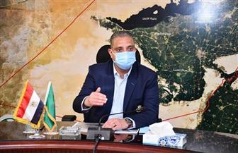 """محافظ الفيوم يشدد على تطبيق الإجراءات الاحترازية ضد """"كورونا"""" بالمركز التكنولوجي"""