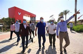 «الخطيب» يتفقد الإجراءات الاحترازية بفرع مدينة نصر | صور