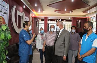 خروج وتعافي 101 حالة «كورونا» من مستشفى قنا العام| صور