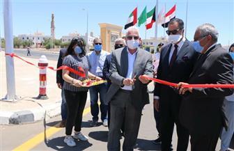 محافظ جنوب سيناء يفتتح طرق ومحاور رئيسية بشرم الشيخ| صور