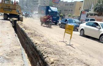 قطع المياه عن مدينة سوهاج لترحيل خطوط المياه بميدان الثقافة.. اليوم